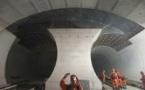 La réalisation du tunnel a coûté 12,2 milliards de francs suisses (10,9 milliards d'euros).[FABRICE COFFRINI / AFP]