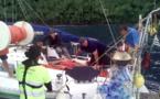 Opération de sauvetage ce samedi matin à Tahuata