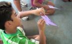 Page enfant : Jouer au cerf-volant n'est pas sans danger