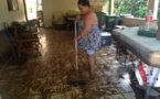 Tiarei : plus d'une vingtaine de maisons inondées dans la nuit de lundi à mardi