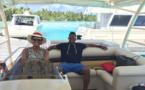 Le footballeur Samuel Eto'o en lune de miel à Bora Bora