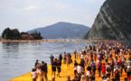 L'oeuvre de Christo sur le lac d'Iseo, victime de son succès