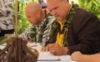La commune de Papeno'o est jumelée à l'île de Kaua'i