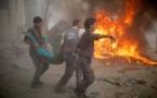 Le régime syrien intensifie ses frappes à la veille d'une réunion de l'ONU