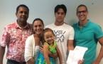 Neuf familles reçoivent les clés de leur fare
