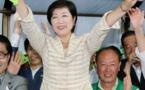 Une femme, Yuriko Koike, élue pour la première fois gouverneur de Tokyo