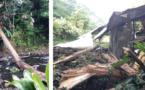Mahina : une partie de leur toiture s'est effondrée avec un arbre