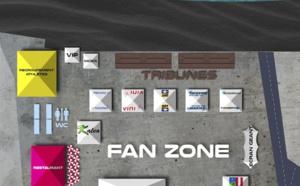 Les aménagements de l'espace Fan zone à Aorai Tini Hau se poursuivent