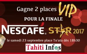 Gagnez deux places VIP pour la finale de la Nescafé Star !