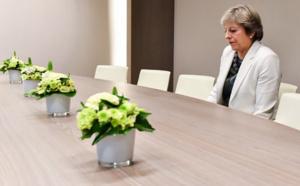 Une photo de Theresa May à Bruxelles suscite la risée des internautes