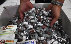 Vaccin contre la dengue: Sanofi va rembourser à Manille les doses inutilisées