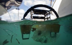 """Le """"robot méduse"""", un aspirateur flottant pour aspirer les détritus"""