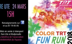 Jeu du 15 au 21 mars -  Gagne deux invitations pour la COLOR TRT FUN RUN 2018 !