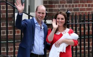 Troisième enfant pour le prince William et son épouse Kate, un garçon