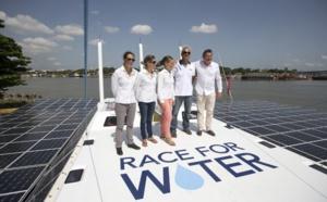Plastic Odyssey, un projet de catamaran carburant aux déchets plastiques