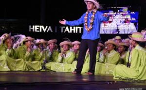 La prestation de Heirurutu (chant) en photos