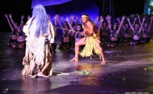 """La prestation de """"Tahiti ia Ruru Tū Noa"""" en photos"""