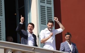 Hugo Lloris fêté à Nice