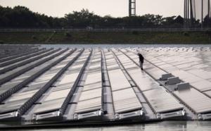 Début de la construction de la première centrale solaire flottante de France