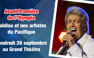 Jeu flash : du 27 au 28 septembre : concert de  Gabilou et nos artistes du Pacifique