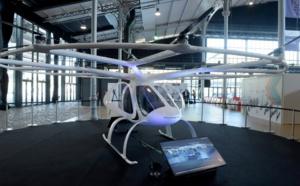 Le taxi volant électrique Volocopter testé à Singapour en 2019
