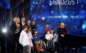 """Téléthon: chute des dons à 69 millions d'euros, dans un contexte """"difficile"""""""