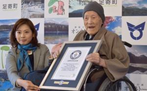 """Japon : décès à 113 ans de """"l'homme le plus âgé du monde"""""""