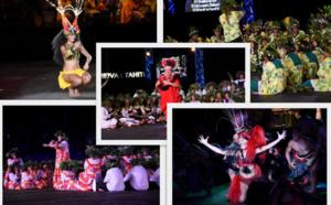 Retour en images sur la soirée du 5 juillet du Heiva i Tahiti