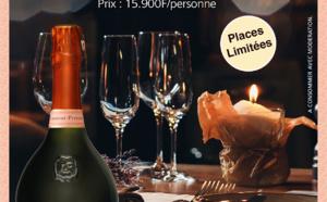 Jeu Laurent Perrier du 8 au 18 novembre - Repas gastronomique