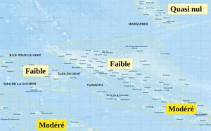 Le risque cyclonique reste faible en Polynésie