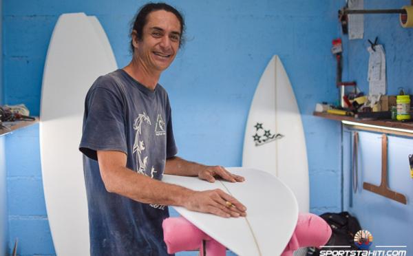 Sport-Business : Teva Bonno, le shapeur tahitien aux trois étoiles
