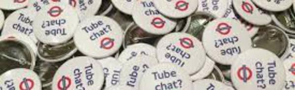 Envie de discuter dans le métro londonien? Sacrilège!