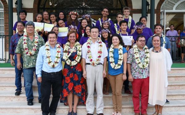 20 élèves iront en formation au lycée Wenling en Chine