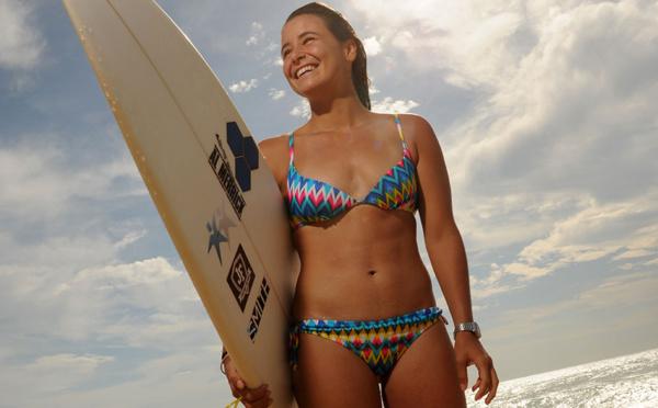 Surf: la Française Johanne Defay 5e mondiale au terme de la saison