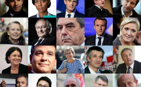 Présidentielle: Fillon en tête, Macron s'installe, le PS distancé (sondage)