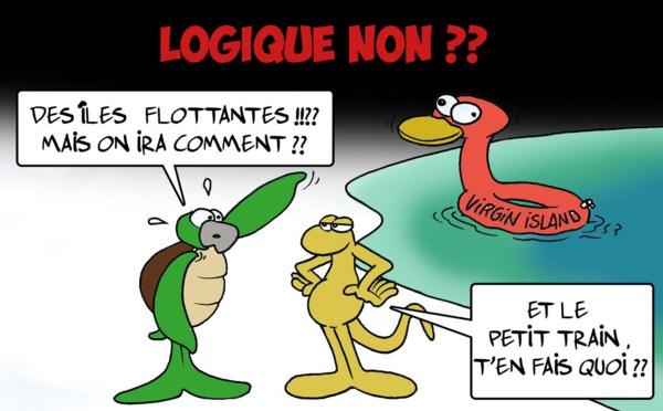 """"""" Les îles flottantes """" par Munoz"""