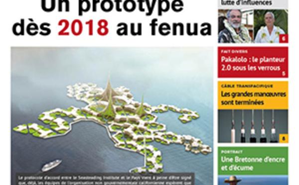 TAHITI INFOS N°830 du 17 janvier 2017
