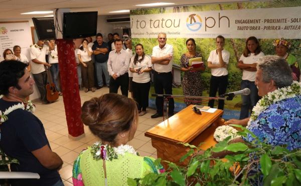 Le nouveau ministre du logement social en visite à l'OPH