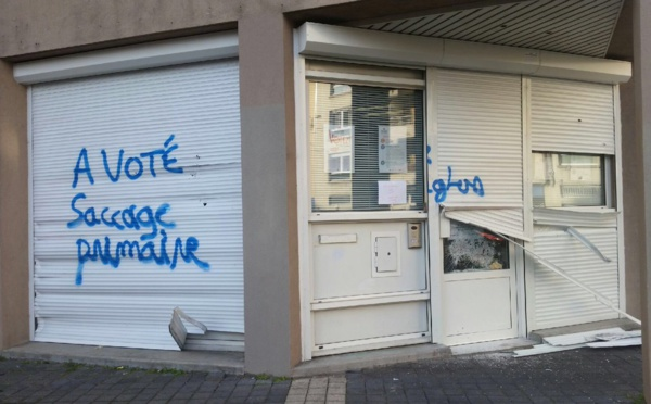 La permanence du PS de l'Isère vandalisée à la veille de la primaire