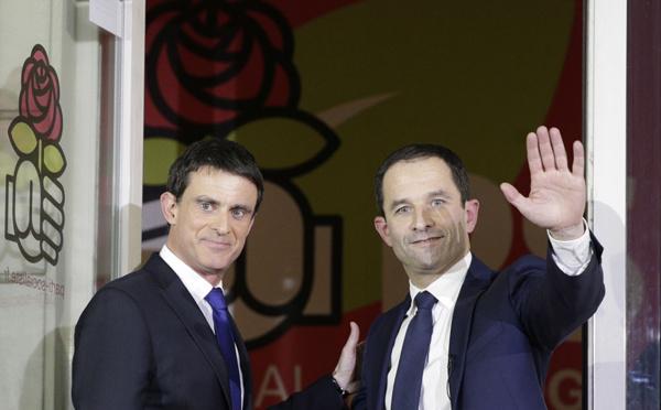 Primaire: large victoire de Hamon, désormais candidat du PS à la présidentielle
