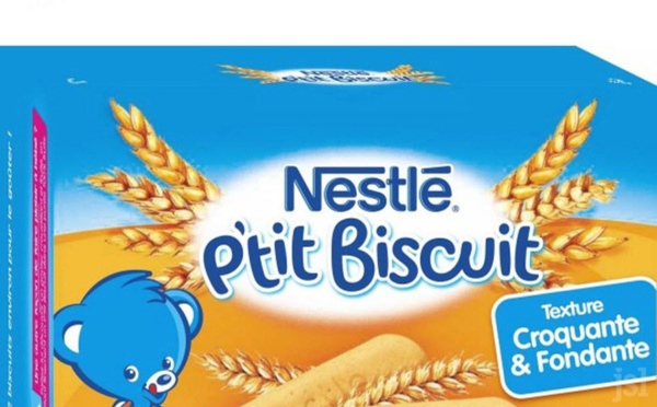 Présence d'acrylamide (cancérogène) dans des biscuits pour bébés vendus en France