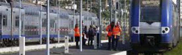 En gare de Cannes, un homme électrocuté sur le toit d'un train en provenance de Vintimille