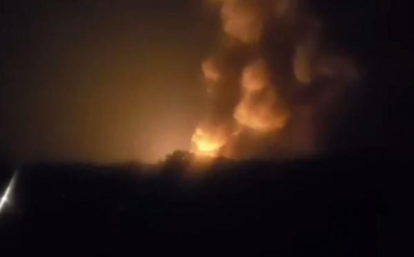 Vaucluse: explosions en série dans un centre de stockage de gaz