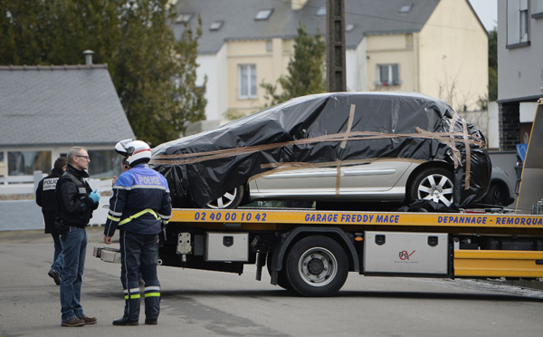 Affaire Troadec : la voiture du fils retrouvée à Saint-Nazaire