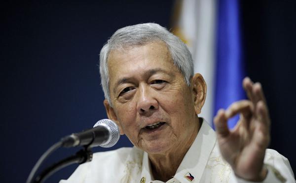 Le ministre philippin était américain, le Parlement le limoge