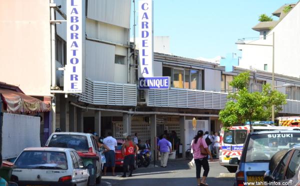 Evacuation clinique Cardella : un puissant désinfectant a été renversé après une mauvaise manipulation (MàJ)