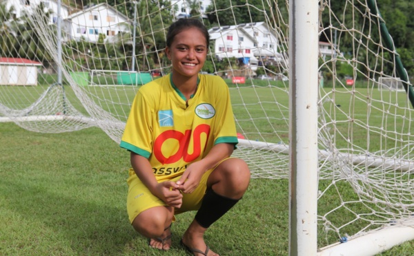 Football féminin – Focus sur Vaihei Samin « J'aime bien la danse mais moi c'est le foot ! »