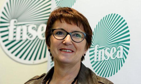 Christiane Lambert première femme élue présidente de la FNSEA