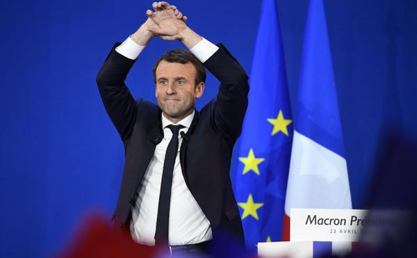 Pour les marchés européens, en très grande forme, Macron est déjà président