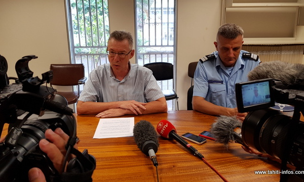 Drame à Paea : le procureur requiert la mise en examen et le placement sous contrôle judiciaire du gendarme